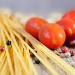 spaghettis et tomates